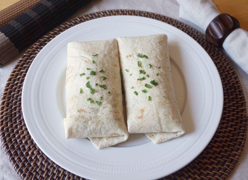 Vegan Tex-Mex Summer Burritos Finished