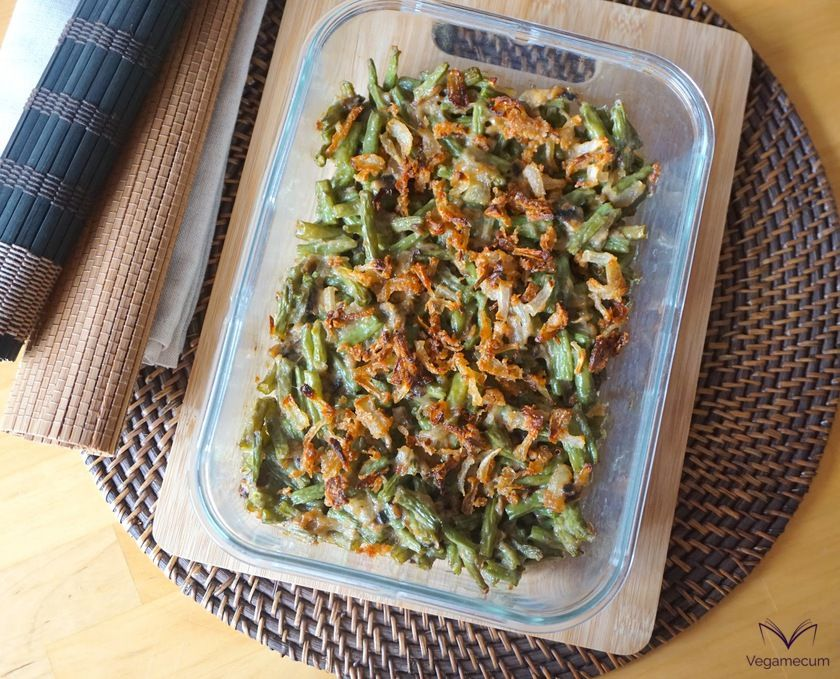 Green Bean Casserole just out off the oven
