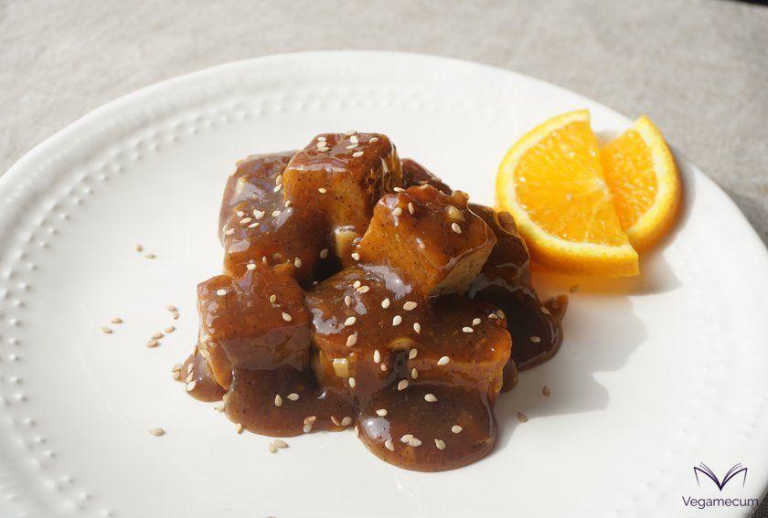 Orange tempeh