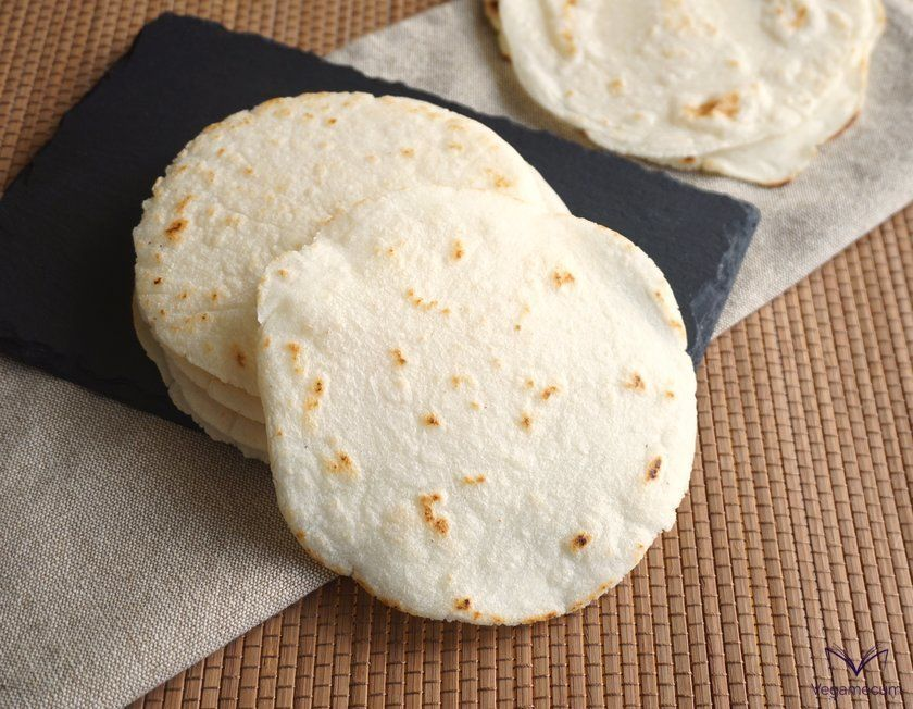Mexican tortillas ready to serve