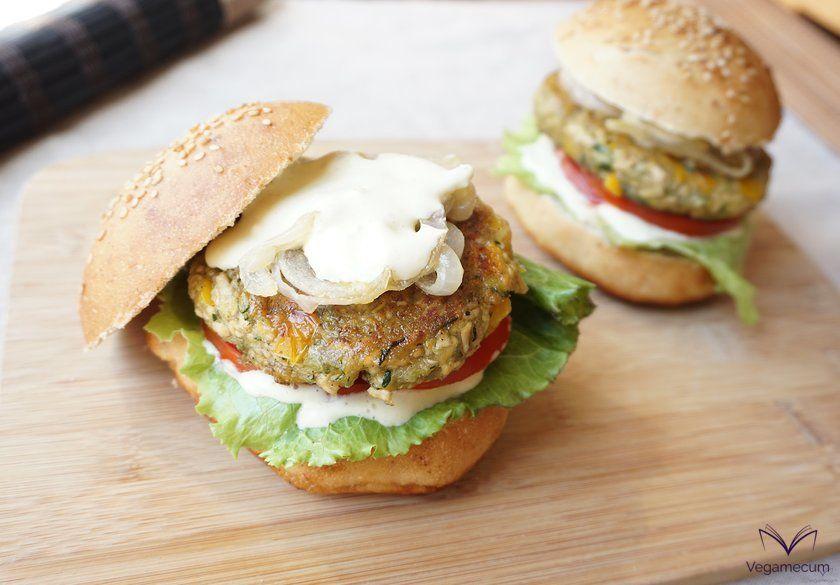 Ready-to-serve burger
