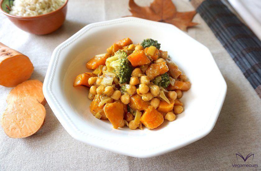Curry de otoño con boniato