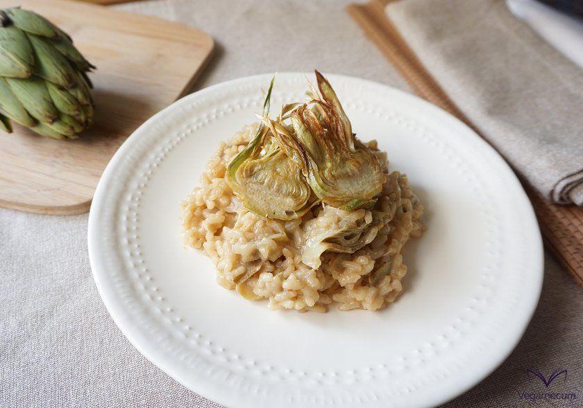 Sicilian risotto alla with artichokes